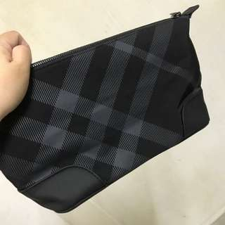 Burberry large pouch