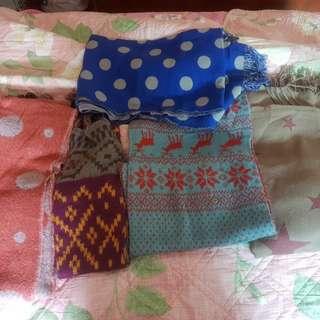 近全新韓版保暖圍巾
