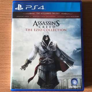 Ps4 Assassin Creed The Ezio Collection
