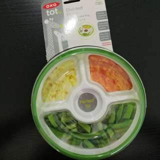OXO Divided Plate BPA free