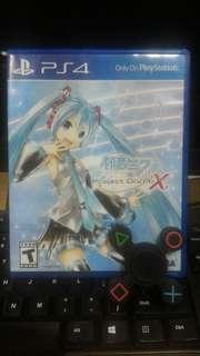 [PS 4] Project Diva X