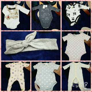 Romper Preloved New Born