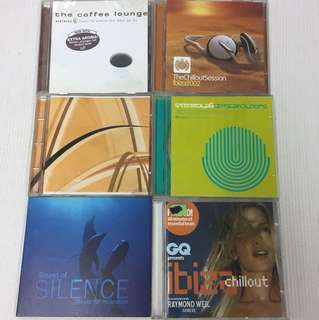 Chill out relaxation music cds