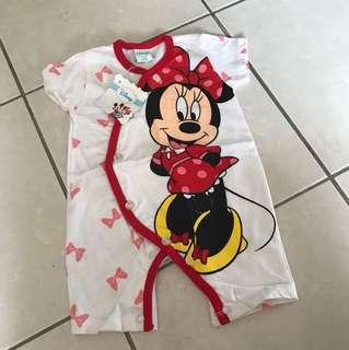 Disney Minnie Mouse body suit