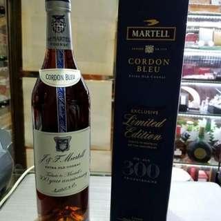 馬爹利藍帶干邑300週年特別紀念版700m l連盒,香港行貨。