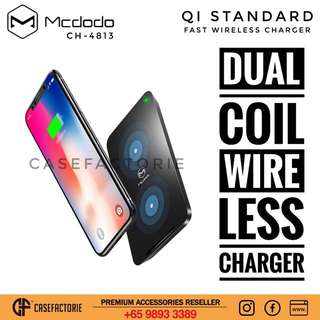 Mcdodo CH-4813 Double Coil Fast Wireless Charger