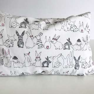 Bean Sprout Husk Pillow / Beanie Pillow , Fabric from USA ( 100% Handmade 100% Cotton , Premium Quality!)