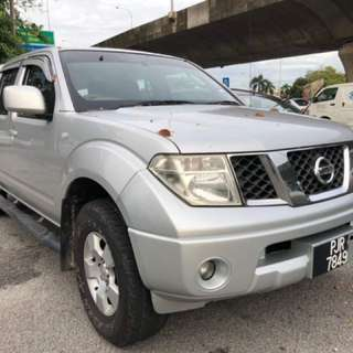 2010 Nissan Navara 2.5 Manual 4WD