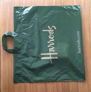 Harrods Large plastic bag