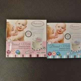 Autumnz Breast Milk Storage Bags 2 *25bags