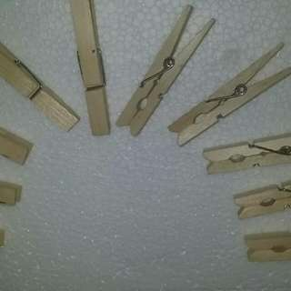 Wooden Peg 7cm × 1cm 10pcs