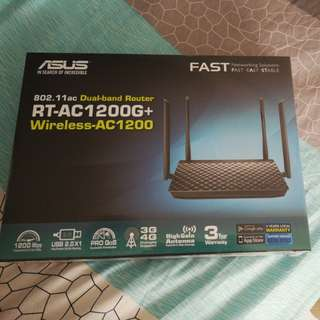 ASUS FAST Wireless Dual-band router (RT-AC1208G+)