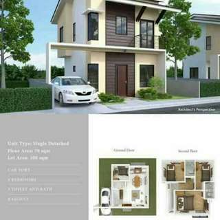 House and lot in mohon talisay