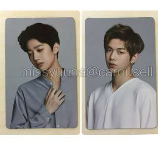 [WTS] WANNAONE LOTTERIA OFFICIAL PHOTOCARD