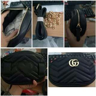 Gucci Belt Black😍