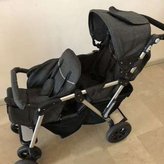 Stroller double chair