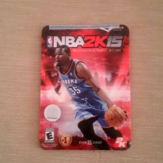 Rare NBA 2K15 for PC unopened, sealed