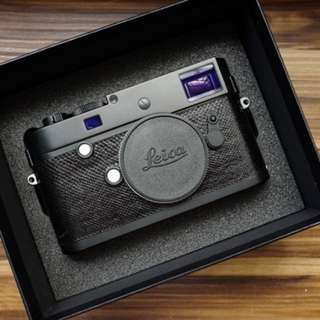 Leica M246 Monochrom with Arte di Mano Karung Snake Skin Leather