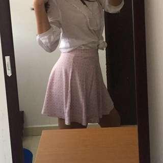 Cute baby pink skirt