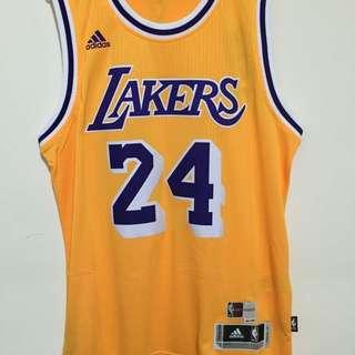 NBA Lakers Kobe 復古 黃 台版 M