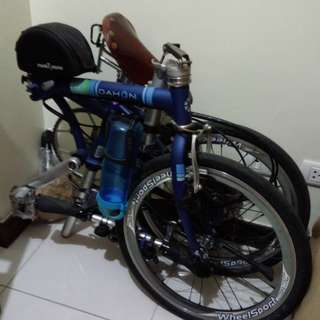 Dahon Folding Bike (upgraded)