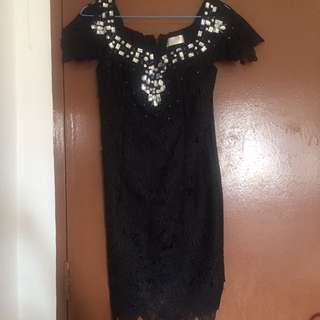 BN Hersace laced dress