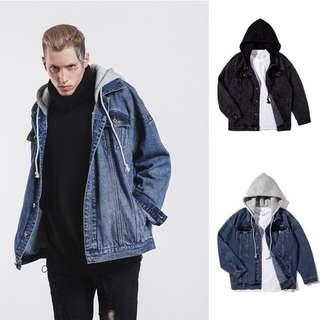1368 Oversized Denim Jacket