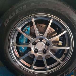WTS API Racing BBK for Lexus RX270
