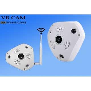 360° Degree Panorama VR Camera HD Wireless WIFI IP Camera