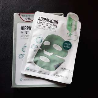 Mediheal  Airpacking Mint/Pink Wrap