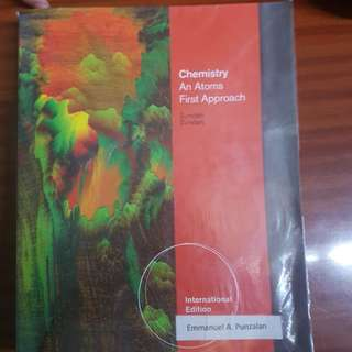 Chemistry: An Atoms First Approach by Zumdahl