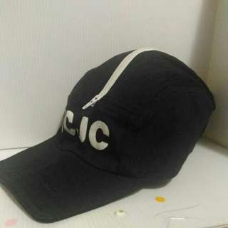 JCJC 黑色拉鍊軟帽