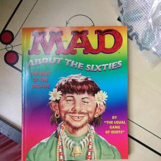Mad about the sixties comics - Collectors item