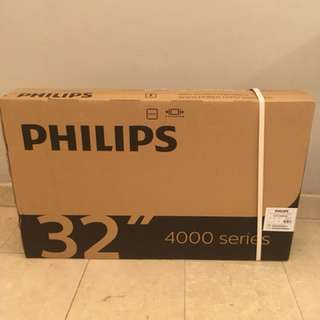 "Philips 32"" LED HD digital TV"