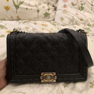 Limited Edition Chanel Boy in Two Colours Hardware