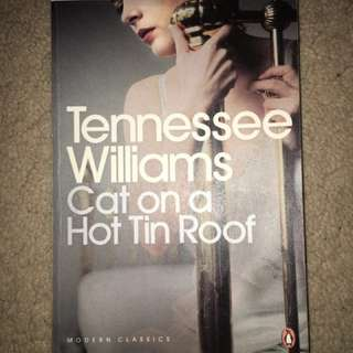 Cat on a Hat Tin Roof Tennessee Williams