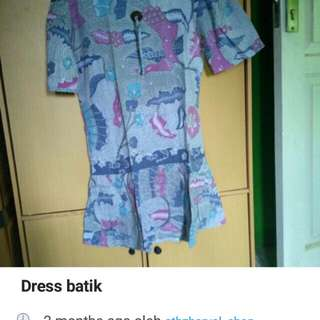 Turun harga dress batik