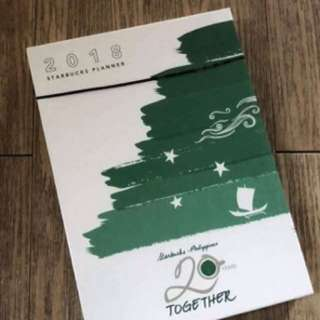2018 Starbucks Planner (New and Unsealed)