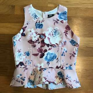 Label Eight Flowery Top