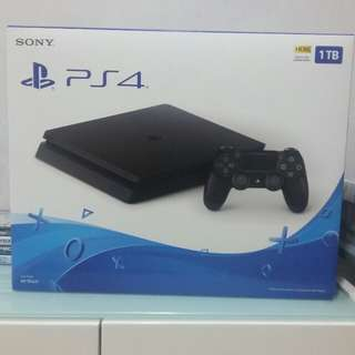PS4 Slim 1TB (Brand New)