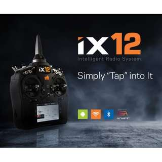Spektrum iX12 12-Channel DSMX Transmitter Only, Initial Launch Discount Promo Available Now!!