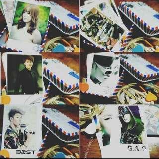 Kpop Photocard For Deco