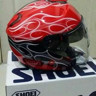 Shoei Red Reborn