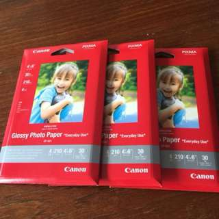 Canon Glossy Photo Paper 30pcs per pack