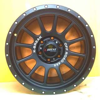 18 inch SPORT RIM 4x4 K.BREAK JAPAN OFFROAD RACING