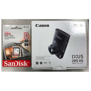 BNIB Canon IXUS 285 HS