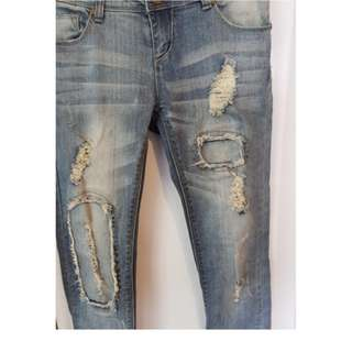 CHICABOOTI WOMANS JEANS SEXY USED 6