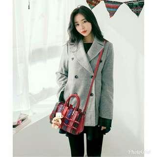 2in1 Crocodile Korean shoulder sling bag