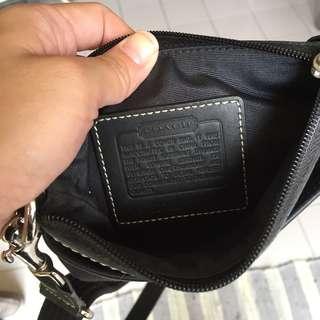 Authentic Coach sling bag crossbody bag