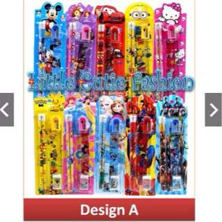 Stationery Set Kid Birthday Party Set Kid Party Bag Mickey Mouse Frozen